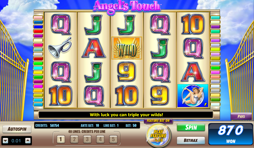 Angels Touch Slot Machine - Play Online Slot Games for Free