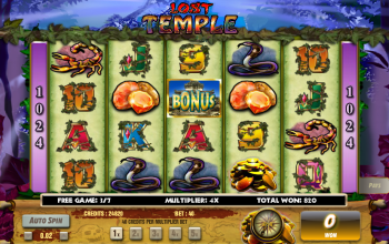 Lost Temple – Free Spins