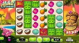 Aloha Cluster Pays Slot Machine