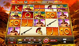 Play Leonidas: King of the Spartans Slot Free