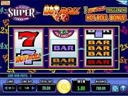 Play Super Times Pay Hot Roll Slot