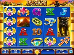 Play Treasures of the Pyramids slot