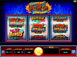Play Triple Red Hot 777 Slot