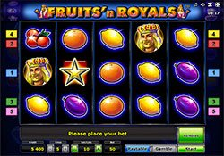 Play Fruits' N Royals Slot