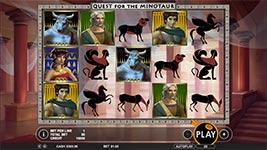 Quest for the Minotaur Slot