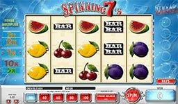 Spinning 7's Slot