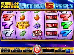 Play Wheel of Fortune Ultra 5 Reels