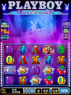 Playboy Hot Zone Slots