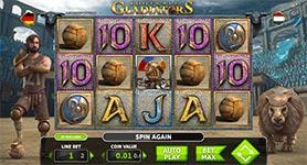 Football Gladiators Slot in 3D