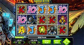 Monkeys of the Universe Slot