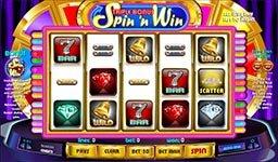 Triple Bonus Spin 'n Win Slot