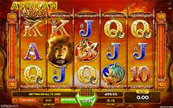 African sunset gameart slot machine tunica machine]