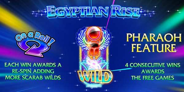 Egyptian Rise Slot Machine