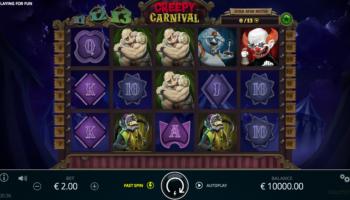 Creepy Carnival Slot – Game Play