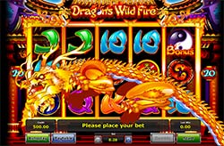 Dragon's Wild Fire Slot