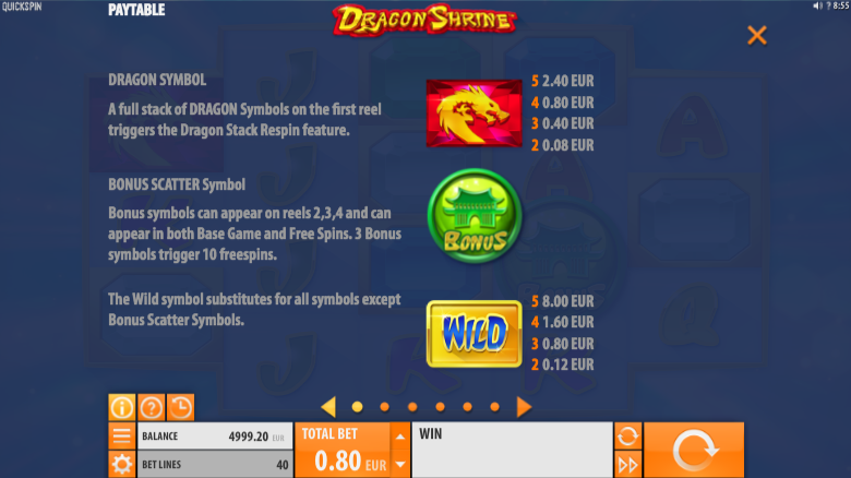 Dragon Shrine Slot Machine - Play Online Slots for Free