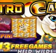 Astro Cat Slot by Lightning Box Games