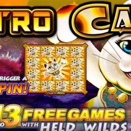 Astro Cat Slot by Lightning Box Games