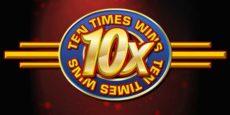10X Wins Slot