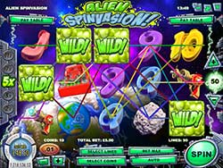 Alien Spinvasion Slot