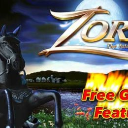 Zorro: The Tale of the Lost Gold slot by Aristocrat