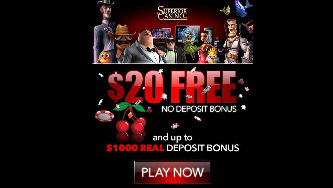 Superior Casino $20 VIP Signup
