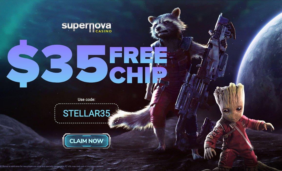 Supernova Casino $35 Free