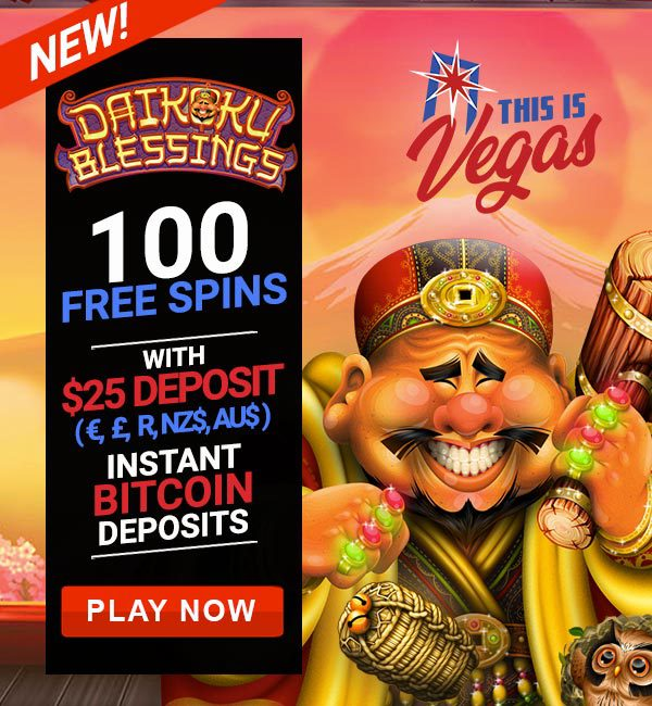 100 Free Spins This Is Vegas