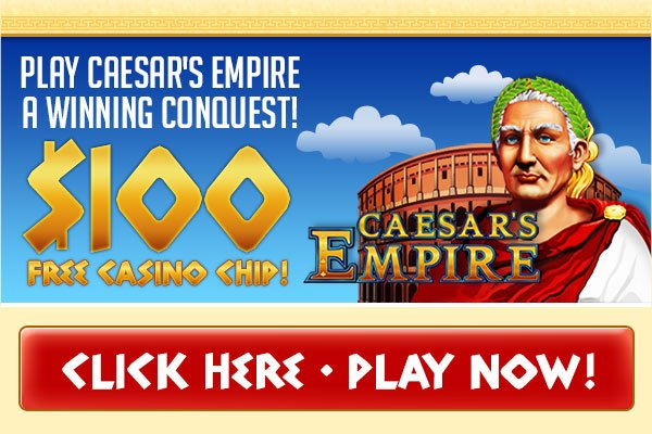 CoolCat $100 Caesars Empire