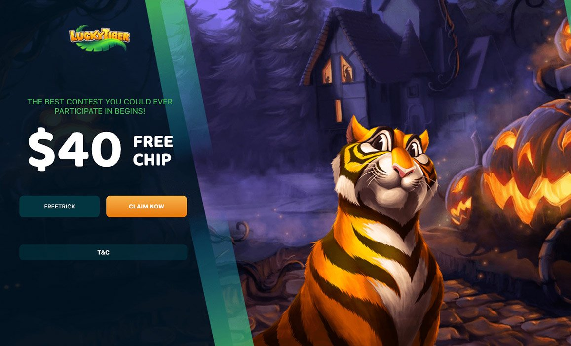 $40 Free Lucky Tiger Halloween