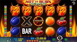 Hot to Burn: Hold and Spin