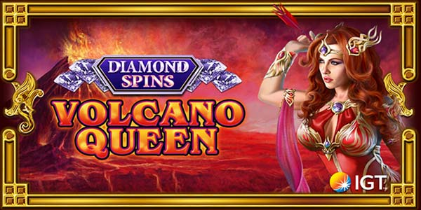 Volcano Queen: Diamond Spins