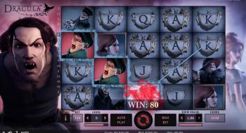 Dracula Slot Win